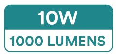 Spectric Single Colour Zig-Zag LED Strip Lights (60 x 2835 SMD, 10W, 800-1000 Lumens)