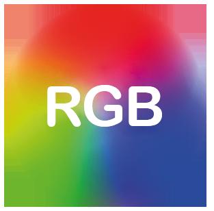 1m RGB Strip Light Kit 7.2W/m