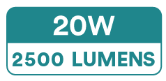 Single Colour High Power Non-Dotting LED Strip Lights (240 x 2835 SMD, 20W, 2500 Lumens)