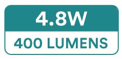 Spectric Single Colour LED Strip Lights (60 x 3528 SMD, 4.8W, 400 Lumens)