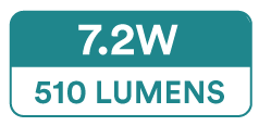 Spectric RGB Colour LED Strip Lights (30 x 5050 SMD, 7.2W, 165-510 Lumens)