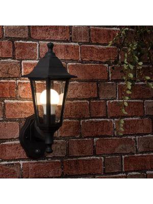 EliteR Outdoor Wall Lantern With PIR Sensor