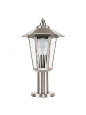 IP44 Stainless Steel Outdoor Post Top Lantern Light