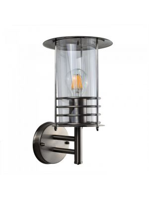 Cornwall Stainless Steel Outdoor Wall Lantern