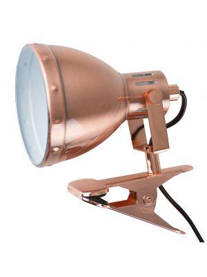 Portishead Satin Copper Clip Spotlight