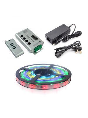 5m RGB LED Pixel Tape Kit