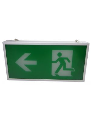 Exit Box LED; Double Sided - Maintained