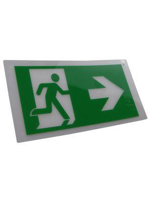 Exit Legend for HTLEDSM-1/HTLEDCWM - Arrow Right