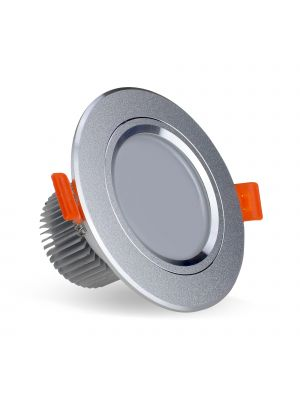 EvoLED 3W Fitted LED Downlight Frosted, 300 Lumens