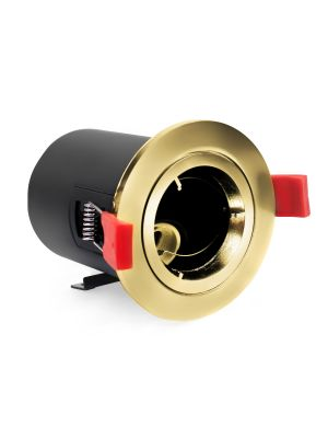 NeoTec+ Ignis Plus Fire Rated Downlight GU10 Fixed Brass