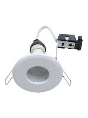 EcoSpot+ Hoop Plus Downlight Die Cast GU10 IP65 White