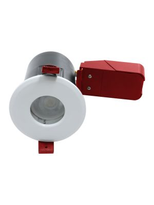 NeoTec+ Ignis Plus Fire Rated Downlight GU10 IP65 White