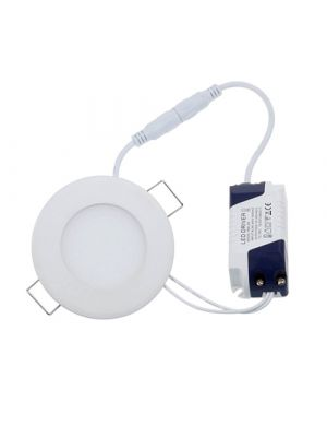 6W LED Panel Light, 450 Lumens