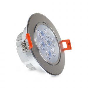 ReadyLED 7W Fitted LED Downlight 600 Lumens, Standard (Tilt)