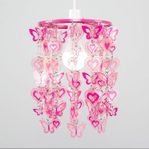 Hearts And Butterflies NE Pendant Shade (Shade Only)