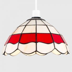 Tiffany Glass NE Pendant Shade (Shade Only)