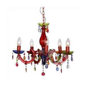 Mini Marie Therese 5 Way Gypsie Chandelier Ceiling Light