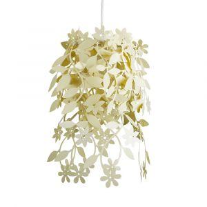 Naturic Cream Floral NE Pendant Shade (Shade Only)