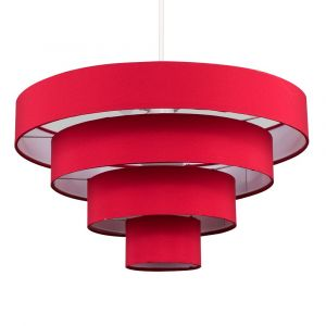 Nevada 4 Tiered Pendant Light Shade (Shade Only)