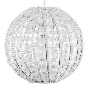 Crystal Beaded Ball NE Pendant Shade (Shade Only)