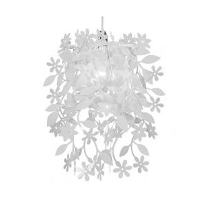 Naturic White Floral Pendant Shade (Shade Only)