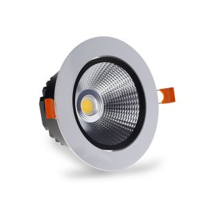 LuxSpot 18W Recessed LED COB Downlight Tilt, 1350Lm