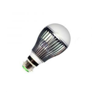 B22 LED Bulb Globe (Opaque) - 5W = 50W - 430 Lumens
