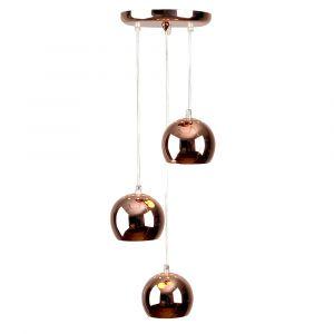 Retro Eyeball 3 Light Droplet Copper
