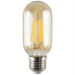 E27 4W LED Filament Radio Valve Bulb Amber (Warm White 2700K)