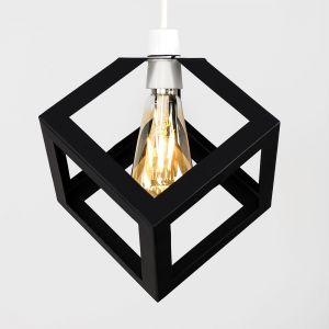Eschor Puzzle Steampunk Non Electric Cube Pendant (Shade Only)