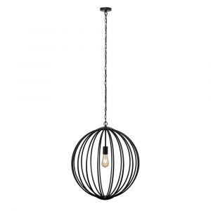 Astoria Black Basket Electric Pendant