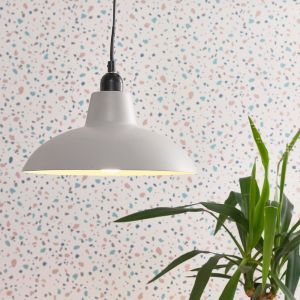 Civic Grey Pendant Shade (SHADE ONLY)