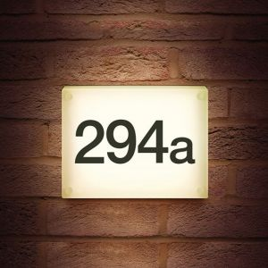 Integral LED Outdoor Night Sign 6W 4000K 545lm IP54