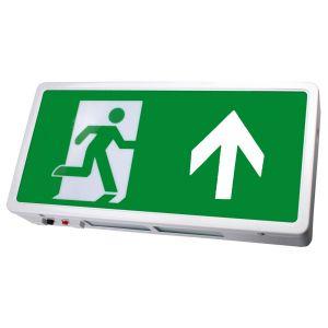 Exit Box LED - Maintained c/w Up Arrow Legend