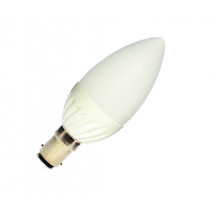 B15 3.5W LED Bulb Candle, Ceramic Frosted
