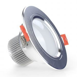 EvoLED 5W Fitted LED Downlight 400 Lumens - Frosted
