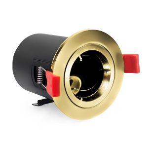 UltraSpot+ Ignis Plus Fire Rated Downlight MR16 Fixed Brass