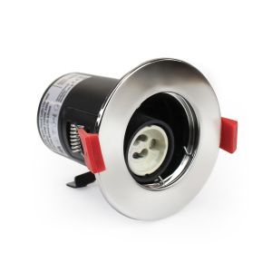 Fire Rated Downlight GU10 Fixed - Chrome
