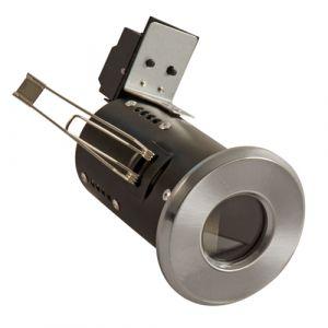 UltraSpot Fire Rated Showerlight MR16 Diecast - Satin Chrome