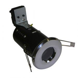 UltraSpot Fire Rated Diecast Showerlight MR16 - Polished Chrome