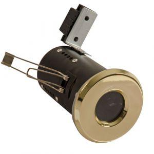 UltraSpot Fire Rated Diecast Showerlight MR16 - Brass
