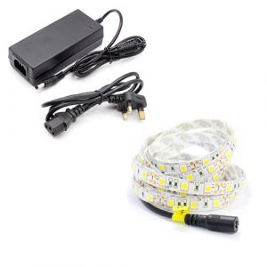 1m Single Colour LED Strip Light Kit (60x5050, 14.4w/m, 1020 Lumens)