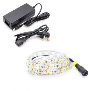 5m Single Colour LED Strip Light Kit (120x3528, 9.6W, 800LM)