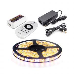 5m Dual Colour LED Strip Light Kit