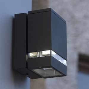 Focus Square Outdoor LED Wall Downlight