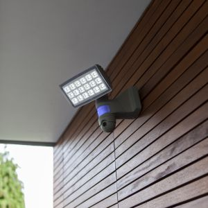 Peri Outdoor LED Wall Light With PIR Motion Sensor and Camera