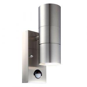 PIR Outdoor Up/Down GU10 Wall Light for GU10 IP44