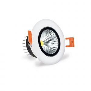 LuxSpot 3W Recessed LED COB Downlight Tilt, 230 Lumens