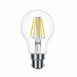 OMNIPlus Dimmable B22 6W OMNI-LED Bulb, Clear Globe