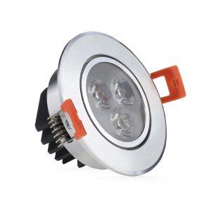 ReadyLED 3W Fitted LED Downlight Standard (Tilt)